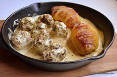 reteta chiftelute cu sos de mustar Sausage, Chicken, Meat, Foods, Pork, Food Food, Food Items, Sausages