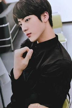 i legit thought this was fanart, but it's just jin being unbelievably handsome