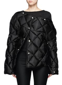 Acne Studios | 'Bobbi Down' convertible quilted puffer jacket