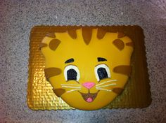 Daniel tiger cake she does love Daniel...