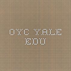 Cosmetology yale course catalog