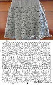 Fabulous Crochet a Little Black Crochet Dress Ideas. Georgeous Crochet a Little Black Crochet Dress Ideas. Skirt Pattern Free, Crochet Skirt Pattern, Crochet Skirts, Crochet Chart, Crochet Clothes, Crochet Stitches, Free Pattern, Black Crochet Dress, Crochet Lace