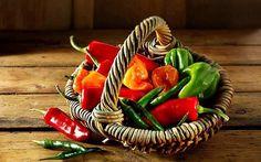 Doces pimentas