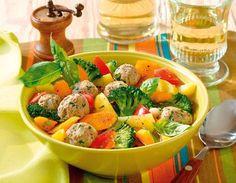 Italienischer Gemüsetopf mit Fleischklößchen