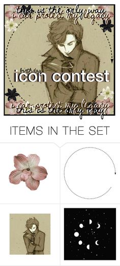 """""""Icon Contest"""" by ninja-potter-bright ❤ liked on Polyvore featuring art and ninjabdayiconcontest"""