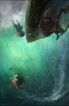 League of Legends Digi-Art Throwdown Honorable Mention -Tabnir