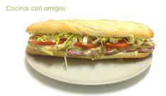 Cocinar con amigos: Bocadillo de ternera con queso camembert