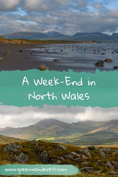 Looking for a weekend get-away? Why not take a road trip to North Wales? It's perfect to reconnect with nature. From Anglesey to Snowdonia, there is plenty to see and do. Here is how to spend a weekend in North Wales with a hike up Snowdon. Snowdonia, Anglesey, Cornwall England, Yorkshire England, Yorkshire Dales, Skye Scotland, Highlands Scotland, Castles In Wales, Slow Travel