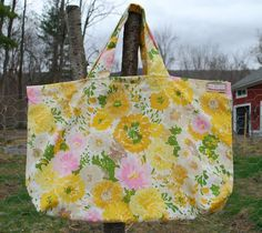 pillow case bag - I kind of want a sewing machine now, just to make a bunch of these