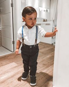 my little man 💘 Outfits Niños, Cute Baby Boy Outfits, Kids Outfits, Cute Little Boys, Cute Kids, Cute Babies, Baby Tumblr, Foto Baby, Cute Baby Pictures