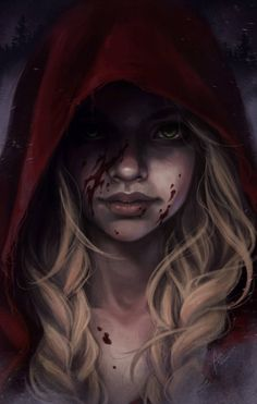 Red Riding Hood by bewareitbites - My list of the most creative tattoo models Gothic Fantasy Art, Fantasy Girl, Fantasy Artwork, Dr Tattoo, Character Inspiration, Character Art, Sketch Style, Red Ridding Hood, Empire Of Storms