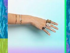 Billy Bride / Aya bracelets.