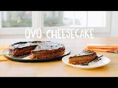 Du magst Ovo Schoggi? Dann wirst du diesen Cheesecake lieben! Ovomaltine Schokolade und Quark zaubern einen Kuchen der Extraklasse. Hier geht's zum Rezept. Biscuits, Cheesecake, Banana Bread, Sweet Tooth, Treats, Cooking, Desserts, Food, Youtube