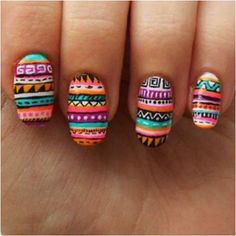 Examples of Creative Nail Art or things that I will never