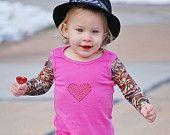 Infant/Toddler Tattoo Sleeve Sundress
