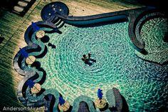 pool in a hotel, Florianopolis, Santa Catarina, Brazil
