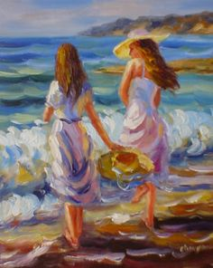 impressionism , makes me think of my sister yvette