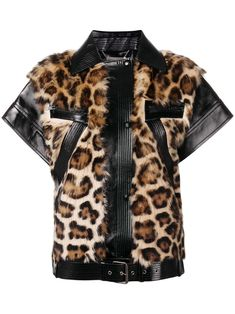 Shop online black Givenchy zipped leopard vest as well as new season, new arrivals daily. Fashion Bazaar, Paris Fashion, Winter Fashion, Fashion Fashion, Versace Jacket, Someday Fashion, Vest Pattern, Fashion Plates, French Fashion