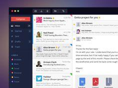 Mail App - Flat ui by Ivo Ivanov