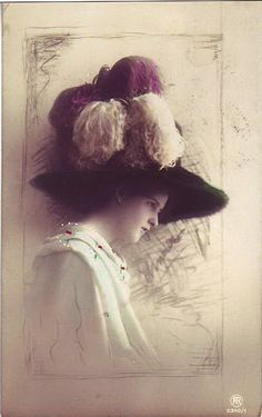 Vintage hat, hats, millinery
