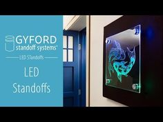 Gyford LED StandOffs Are An Amazing Way To Create Illuminated Displays. The  StandOff Barrels Are Custom Made To Accommodate Side Firing LED Diodes.