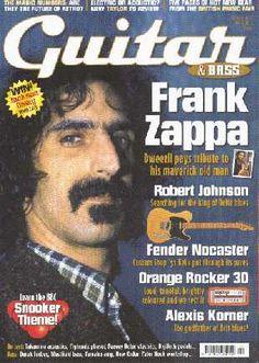 guitar & bass (2005/10, mag, uk) interview with Dweezil & Ahmet regarding the Zappa plays Zappa tour Cd Album Covers, Robert Johnson, Frank Zappa, Classic Rock, Rock N Roll, Plays, Acting, Interview, Guitar