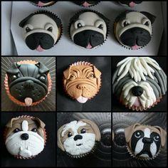 Image result for kawaii dog cake buttercream