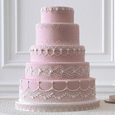 50 Great Wedding Cakes | Martha Stewart Weddings