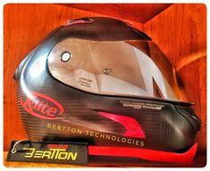 New helmet! @nolanxliteuk  #welikeitontheroad #xlitehelmet #carbon #racinghelmet #motogp  #BerTTonSquad #BerTTon #MotoLove #motorcycle #bikerlife