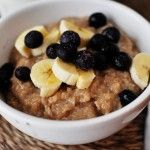 Slow Cooker Overnight Maple & Brown Sugar Oatmeal