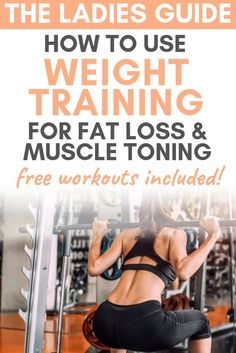 The Ultimate Beginners Guide to Strength Training for Weight Loss - What's Wellbeing