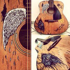 My canvas guitar