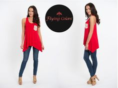 This swing tank is perfect for the next big University of Louisville game, ladies!