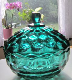 Check out this item in my Etsy shop https://www.etsy.com/listing/455850052/vintage-indiana-glass-co-whitehall-candy