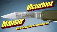 Victorinox Mauser Swiss Army Knife Qualitätsmesser Taschenmesser mit 2 Klingen, Korkenzieher,Stech Bohrahle, Holzsäge mit Schutzkappe, Kapselheber mit Schraubendreher