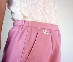 vintage lacoste golf skirt