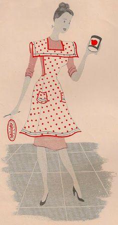 FREE cross top bib apron pattern at Sentimental Baby