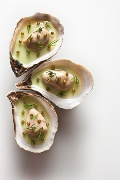 "Oyster Vichyssoise from ""Eleven Madison Park"" restaurant by Francesco Tonelli"