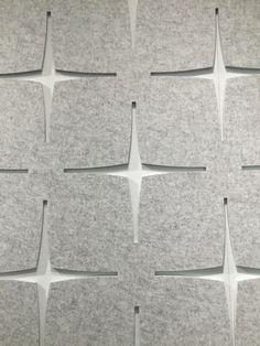 Laser cut felt acoustic panels @globalfurntiuregroup