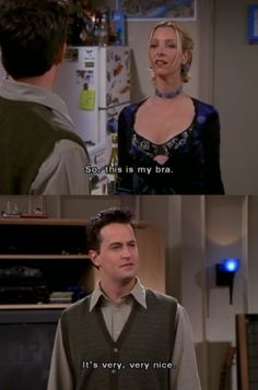 The One Where Everybody Finds Out #friends #chandler and phoebe