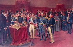 San Martín es recibido por el Congreso de Buenos Aires el 17 de mayo de 1818