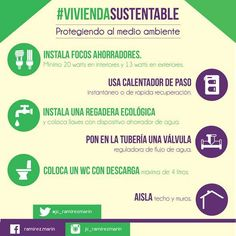 #VivivendaSustentable Protegiendo al medio ambiente