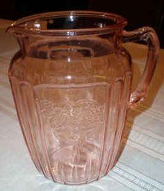 Depression Glass - Cabbage Rose pattern