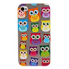 Cute Owl Pattern Hard Case for iPhone 4 and from on Artfire. Saved to iphone 4 case. Iphone 4, Iphone 5 Cases, Coque Iphone, Apple Iphone, Owl Phone Cases, Phone Covers, Kindle Case, Owl Patterns, Cute Cases
