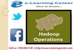 https://flic.kr/p/Nf2EK7 | Big Data Hadoop Training with Certification - Online Course | Follow Us On :  www.e-learningcenter.com  Follow Us On :  www.facebook.com/elearningcenter1  Follow Us On :  twitter.com/ELearningCntr  Follow Us On :  instagram.com/elearningcenter