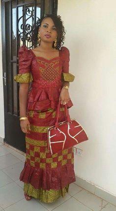 Bazin riche African Print Fashion, Africa Fashion, African Fashion Dresses, Fashion Prints, Fashion Design, African Wear, African Attire, African Women, African Dress