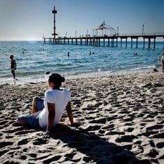 Adelaide city South Australia Brighton Beach • Adelaide's beaches