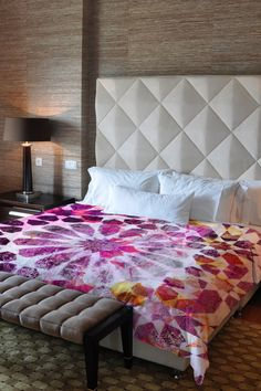 Oliver Gal by One Bella Casa Majid Pink Duvet Cover