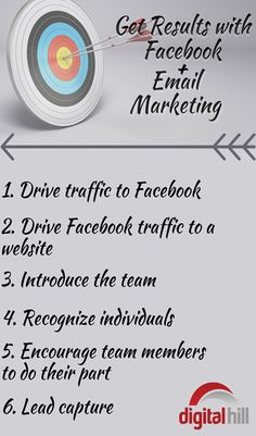 6 ways to use Facebook with Email Marketing