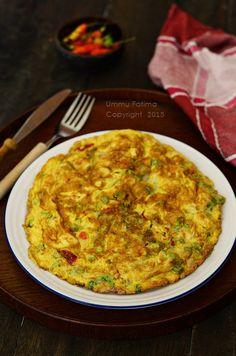 Simply Cooking and Baking...: Omelet Jamur Tiram Pedas